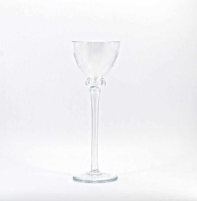 Candeliere medio in vetro  Pz.1