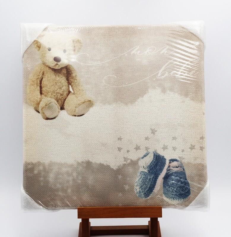 Quadro da ricamare orso