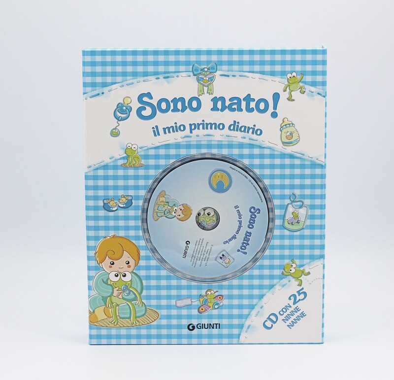 Diario sono nato con cd  Pz. 1