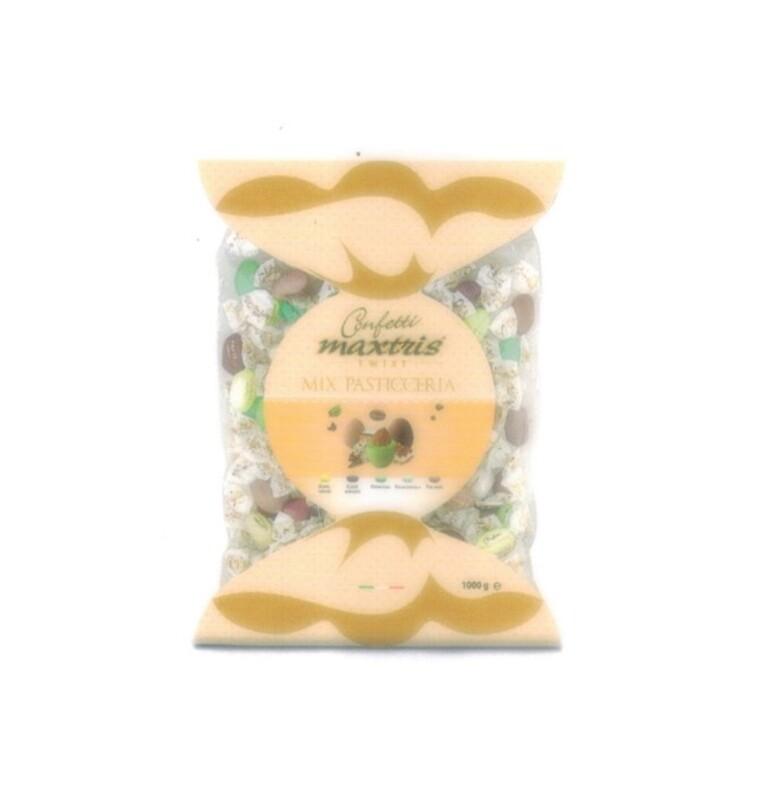 Maxtris ciocomandorla  confezione twist mix pasticceria Pz.1