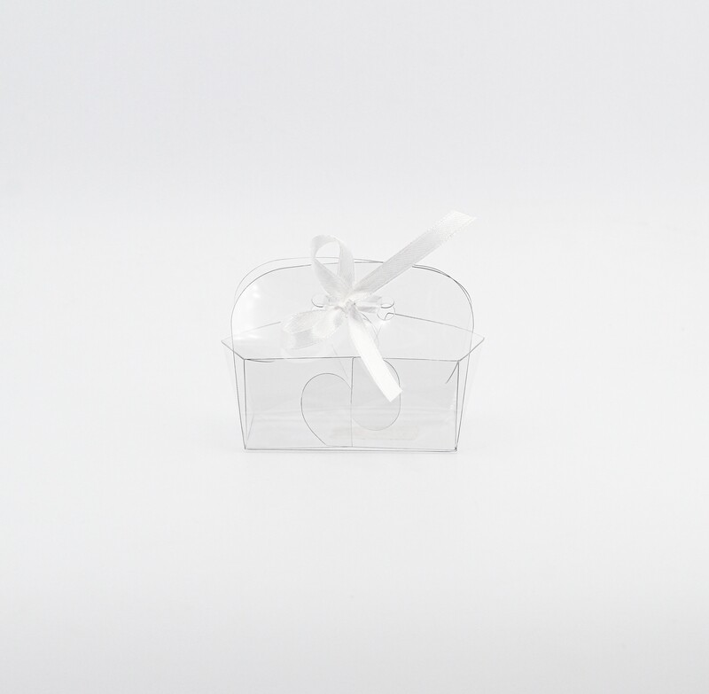 Scatola automontante trasparente con foro Pz.10