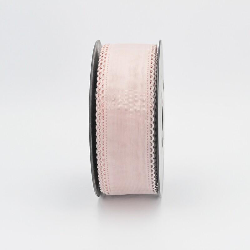 Nastro tubo portaconfetti rosa Mt. 50