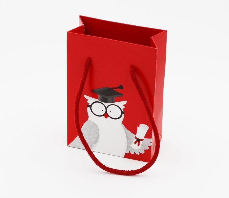 Scatolo shopper box gufetto confezioni da pz. 10
