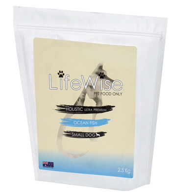 AVAILABLE IN STORE ONLY LifeWise Ocean Fish Small Dog