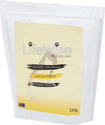 AVAILABLE IN STORE ONLY LifeWise Grain Free Turkey