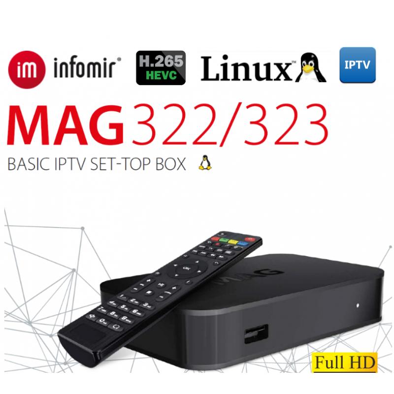 IPTV SET-TOP BOX MAG322