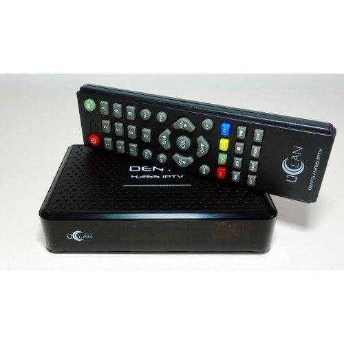 UCLAN Denys H.265 IPTV - ТВ приставка