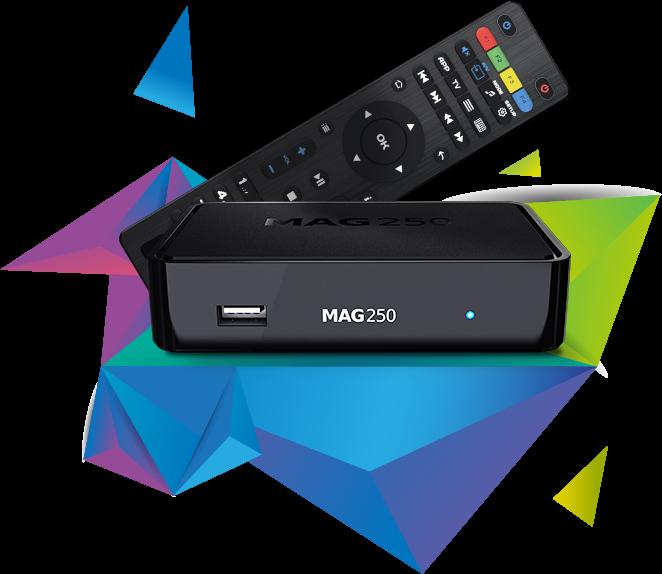 IPTV SET-TOP BOX MAG250