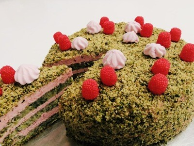 Торт Шпинт-малина