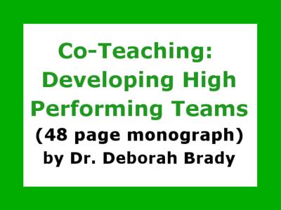 Co-Teaching Monograph
