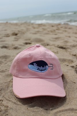 Embroidered Pink Short Hat