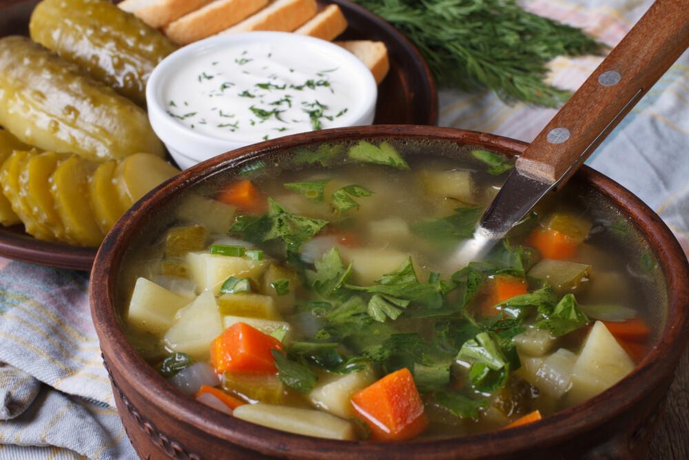 Суп Рассольник(250 гр)