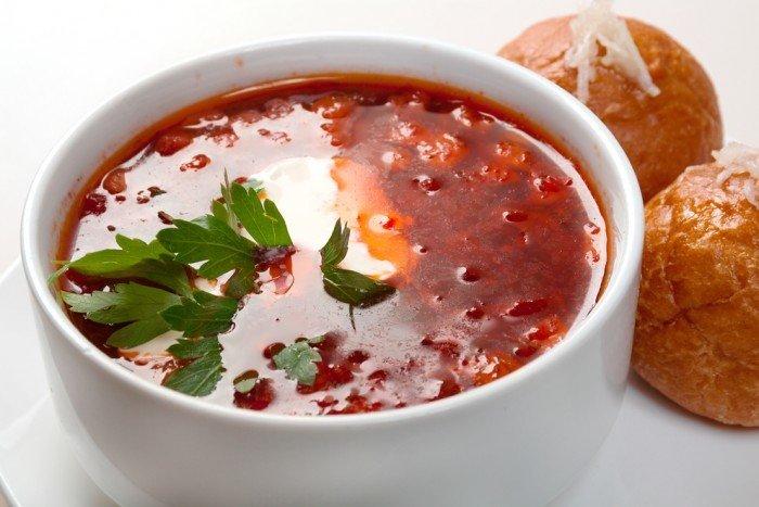 Суп Борщ украинский с говядиной