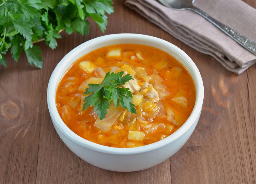 Суп Щи с квашенной капустой