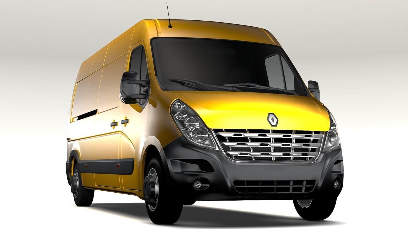 Renault Master 2.3DCI EDC17C42 1037537279