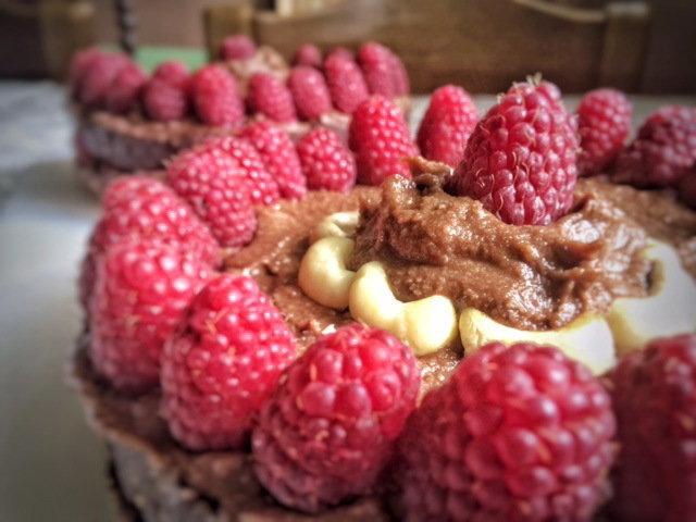 Nutella Malina torta (Vege)