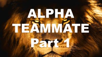 ALPHA TEAMMATE Part 1 - Leadership Lesson PP