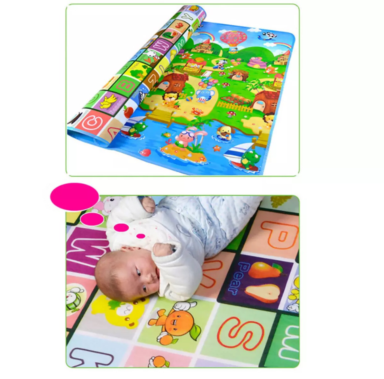 Large Activity Baby Play Mat (2m*1,8m) 00057