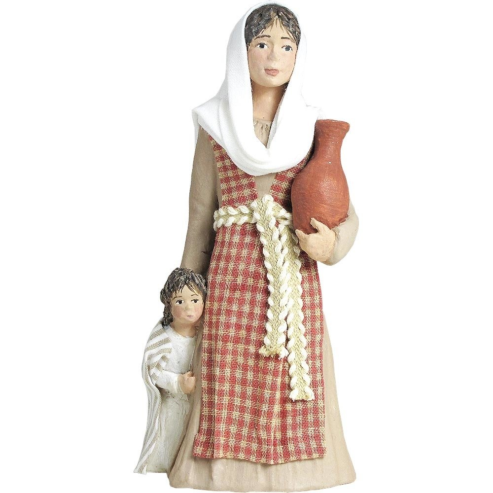 Nativity Figure - Rebekeh, Mother with child