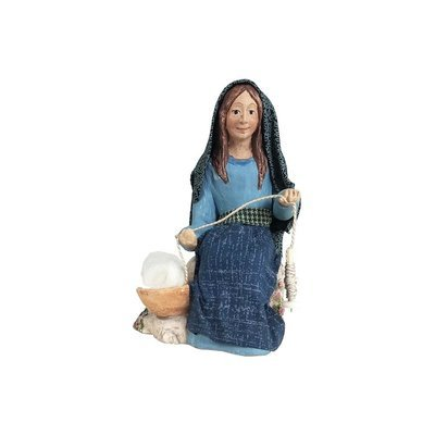 Nativity Figure - Akhati, Weaver Woman