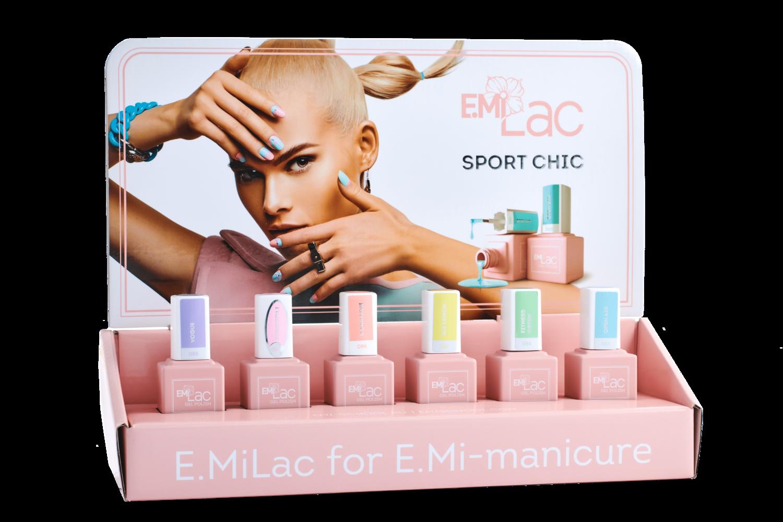 Display E.MiLac Sport Chic+Set