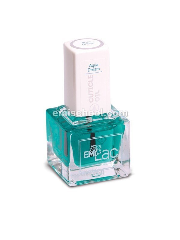 E.MiLac Cuticle Oil Aqua Dream, 9/15 ml.