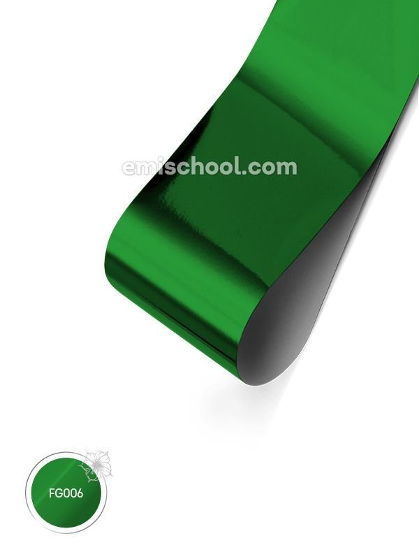 Foil glossy Green, 1.5 m.