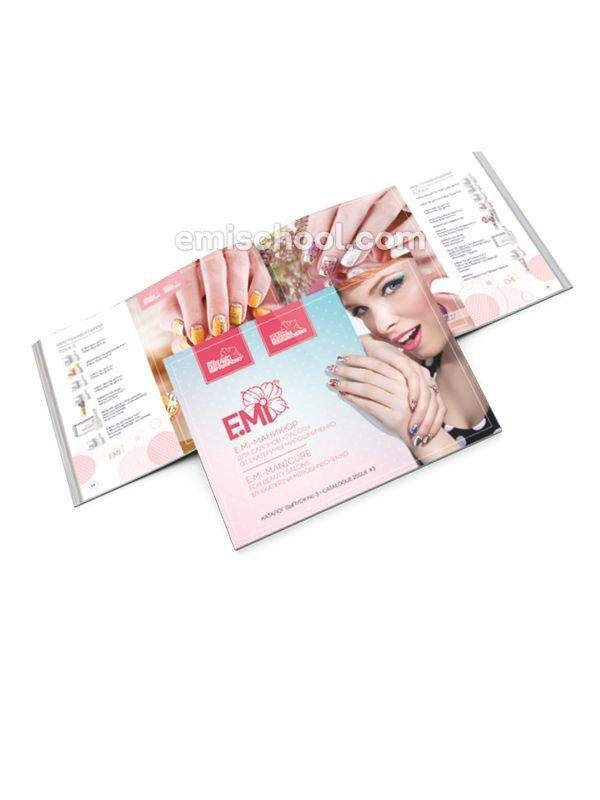 Catalogue E.Mi-manicure for beauty salons by Ekaterina Miroshnichenko. Issue #3