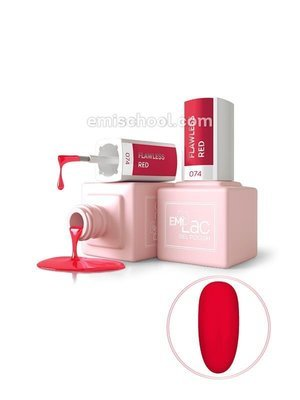 E.MiLac DV Flawless Red #074, 9 ml.