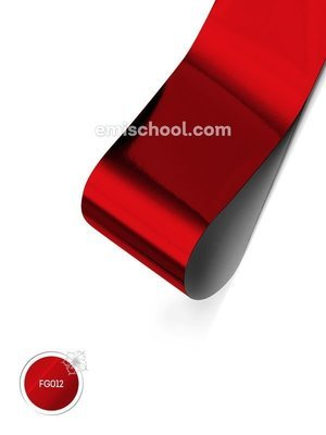 Foil glossy Red, 1.5 m.