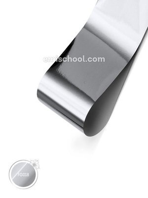 Foil glossy Silver, 1.5 m.