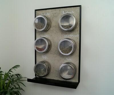 Magnettafel Küche ''Beton Grip''