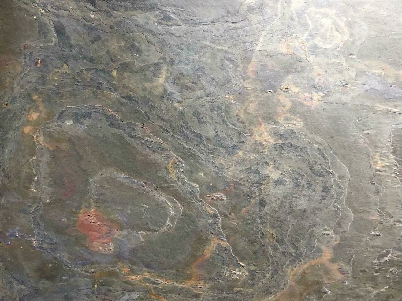Magnettafel aus echtem Schiefer - Vulcano Stone