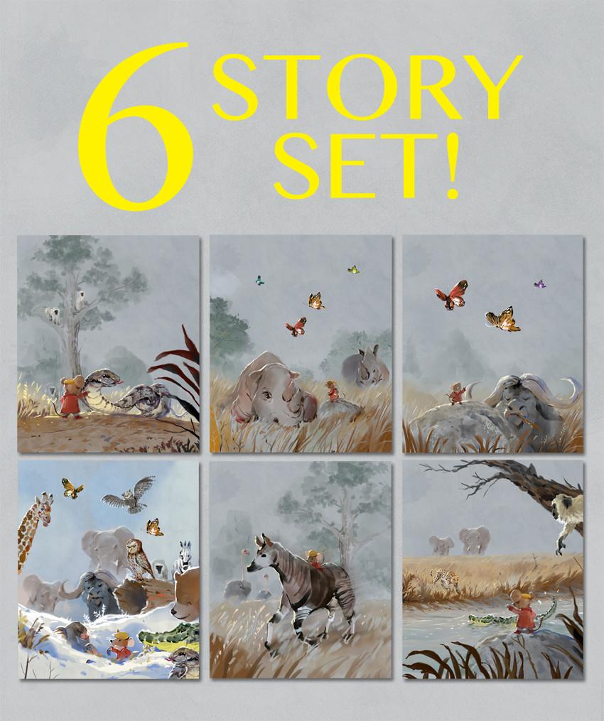 6 Story Set (7-12) SAVE 15%!