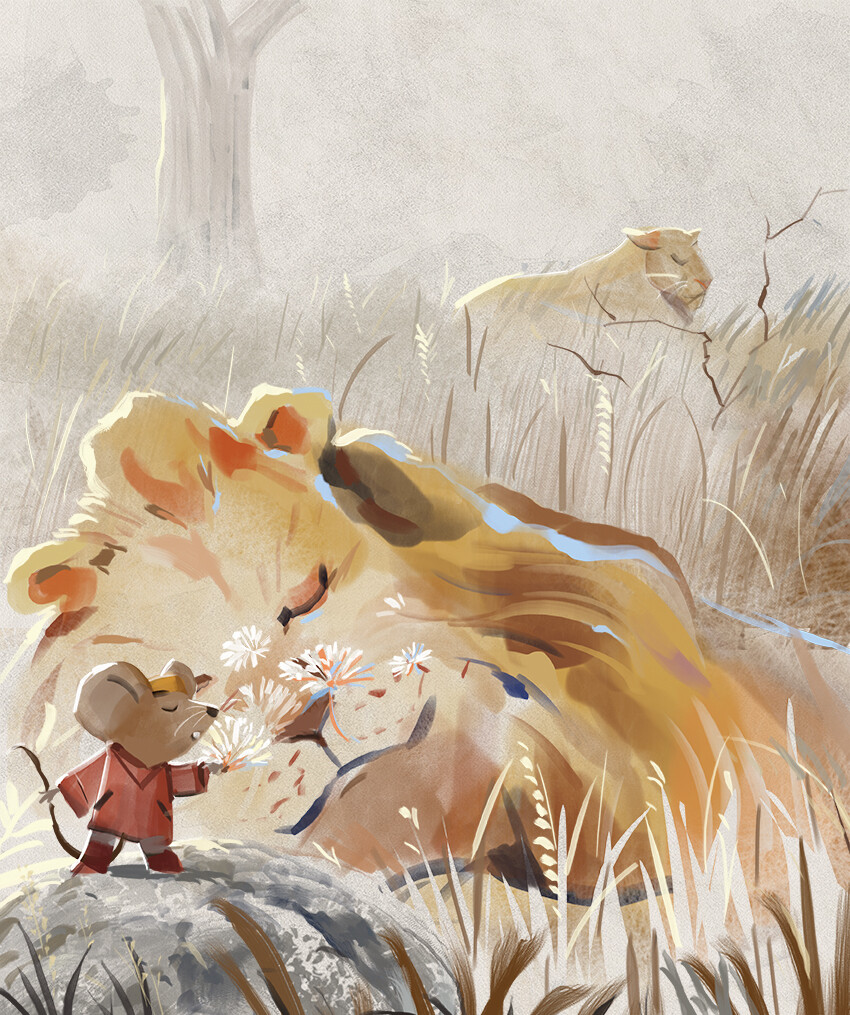 Mr Brown Mouse Wakes Up The Lions AUDIOBOOK