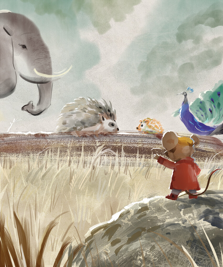 FREE! Mr Brown Mouse The Porcupine & The Hedgehog