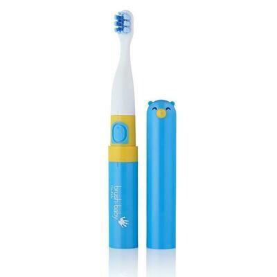 Электрическая зубная щетка Brush Baby «Go-Kidz» с 3 лет (Синяя)