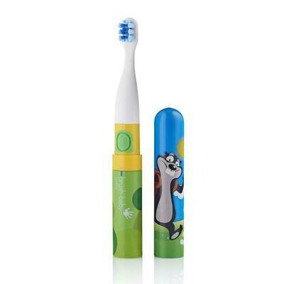 Электрическая зубная щетка Brush Baby «Go-Kidz» с 3 лет (Mickey)