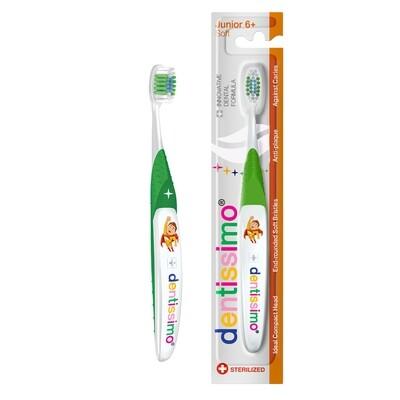 Детская зубная щетка Dentissimo JUNIOR с 6 лет