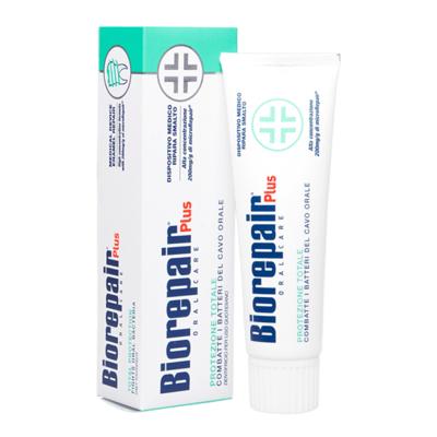 Зубная паста Biorepair Total Protezione Plus. Комплексная защита, 75 мл