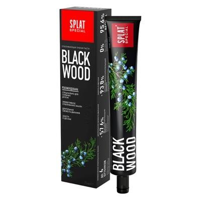 Зубная паста SPLAT BLACKWOOD/ЧЕРНОЕ ДЕРЕВО, 75 мл