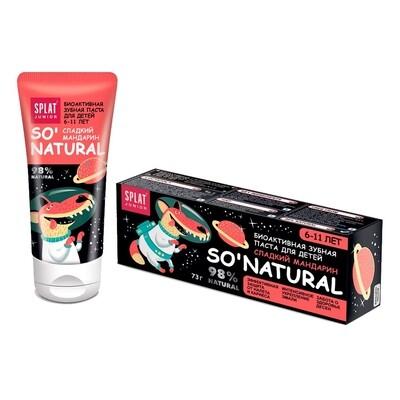 Натуральная зубная паста Splat Junior Сладкий мандарин
