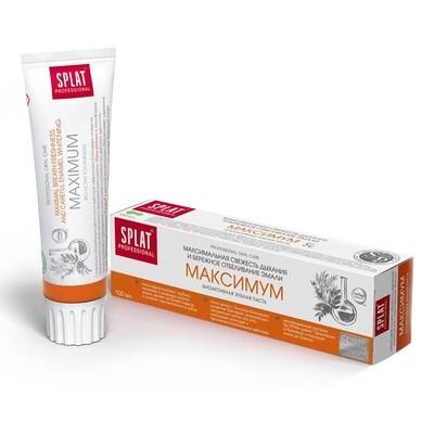 Зубная паста SPLAT Профессиональная Максимум, 100 мл