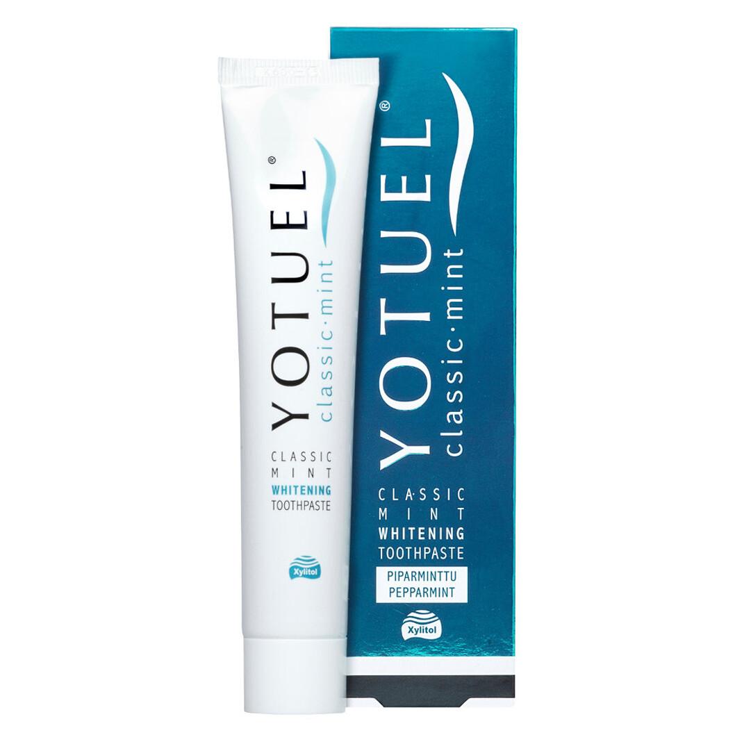 Отбеливающая лечебно-профилактическая зубная паста Yotuel Whitening Classic