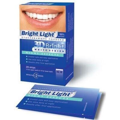 Ночные отбеливающие полоски Bright Light Night Effects
