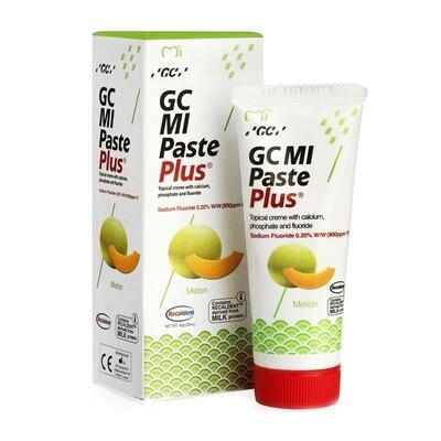 GC MI Paste Plus - крем c фтором, для реминерализации и снижения чувствительности Дыня, 40 г