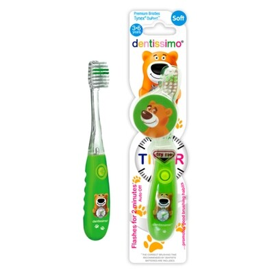 Детская зубная щетка Dentissimo Kids с таймером (3-6 лет)
