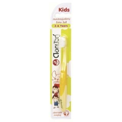 Зубная щетка детская TWIN LOTUS экстра мягкая (3-6 лет)