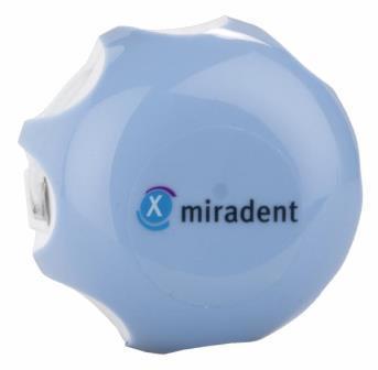 Нить с хлоргексидином Miradent Mirafloss Implant chx medium 2,2 мм, 50 шт по 15 см
