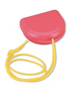 Miradent Dento-BOX Pink - футляр для хранения и транспортировки ортодонтических  конструкций